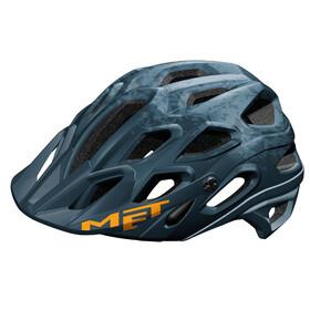 MET Lupo - Casco de bicicleta - azul/Azul petróleo